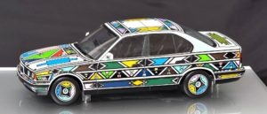 Gogo Esther's early 1990s BMW Art Car
