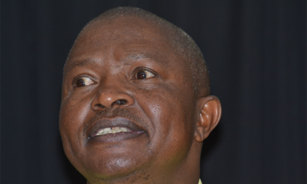 WATCH: ANC CHAIRMAN DD MABUZA THROWS DOWN THE GAUNTLET ON PARTY LEADERS TO SHAPE UP OR SHIP OUT