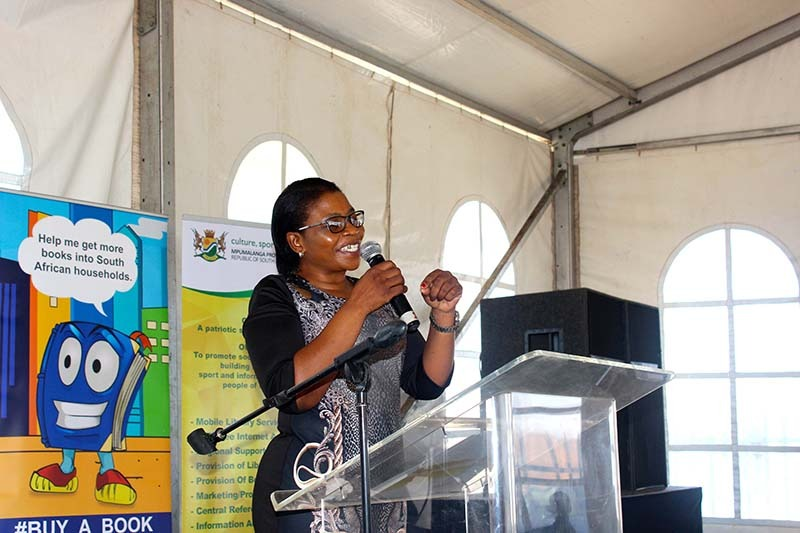 MEC touches Mpumalanga potato struggler Gert Sibande at Book Week celebration