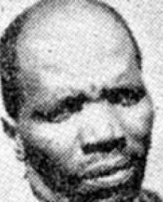LION OF THE EAST: Gert Sibande. PICTURE BY sahistory.org.za