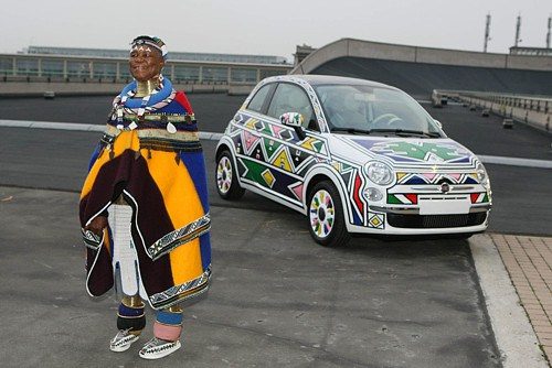 Talented Ndebele gogo at it again