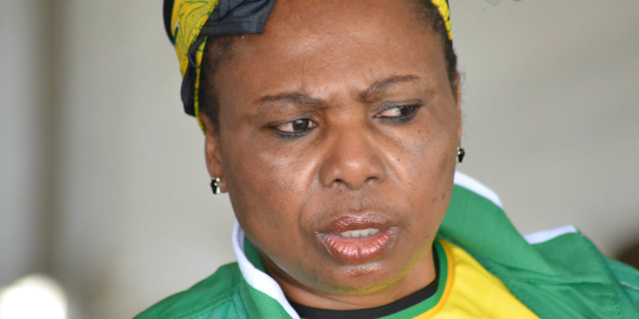Thandi Shongwe's state Merc had 'minor damages'