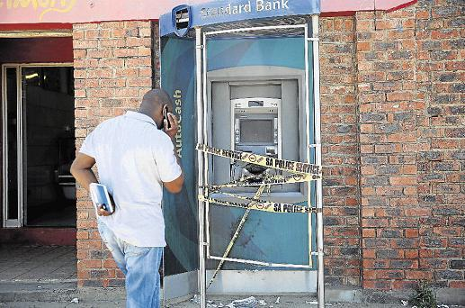 Gang member dies in eMbalenhle botched ATM bombing