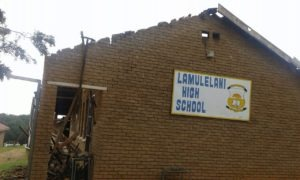 Mhaule condemns torching of Marite school