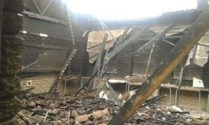 Eight classrooms of Lamulelani Secondary School in the Marite area of Bushbuckridge were torched