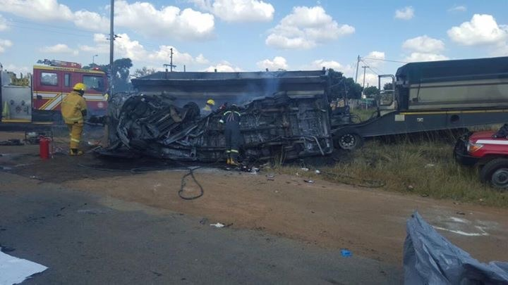 Condolences pour in for families of 20 killed in taxi crash