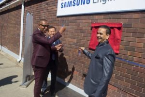 GS College gets a Samsung academy