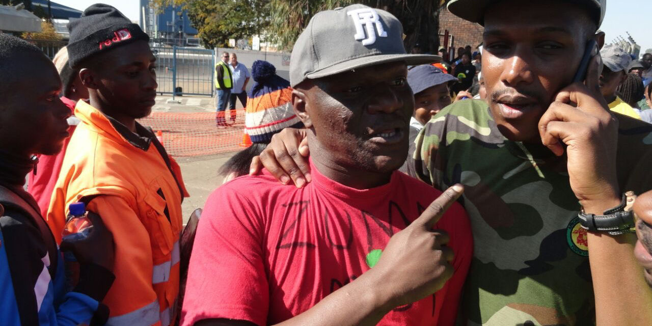 Man wearing 'Zuma Must Fall' T-shirt kicked out of Gert Sibande ANCYL march