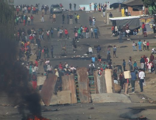 Inside the deadly Standerton protest