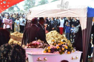 Mandla's family goes to rest