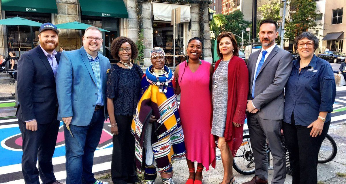 Gogo Esther honoured with Xola in New York – PICTURES