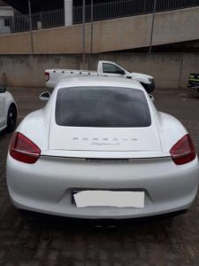Porsche driver caught at 250km/h released on bail