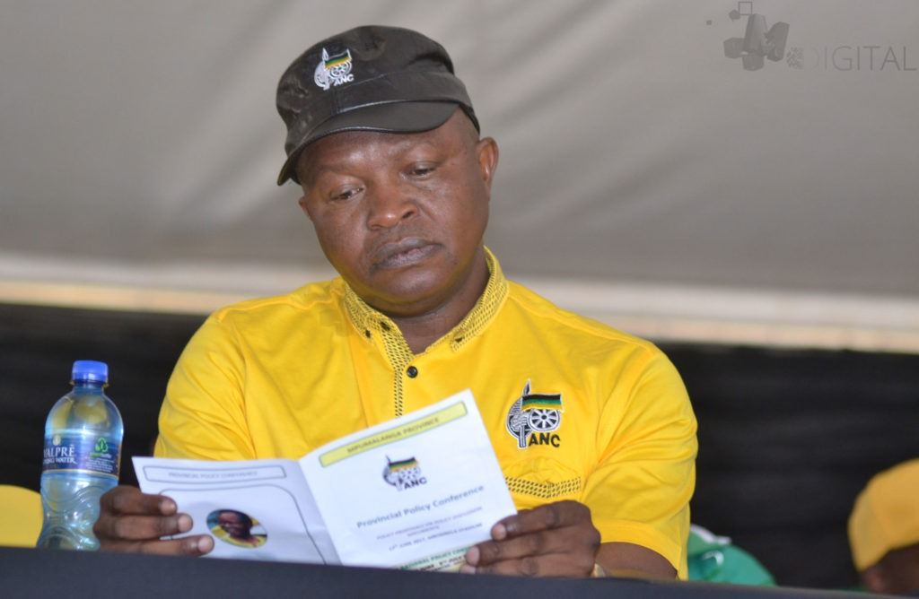 Mabuza keeps country guessing ahead of ANC's 54th congress