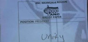 ANC denies ordering Mpumalanga branches to nominate 'unity'