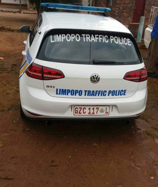 Help cops find this hijacked traffic cop's Golf