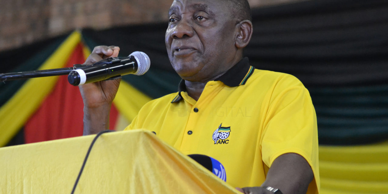Cyril believes December losers should just accept defeat