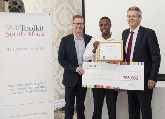 Founder of Freddy and Sons wins aspiring businessman awards