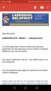 Read: Black parents receive letters barring kids from Laerskool Nelspruit