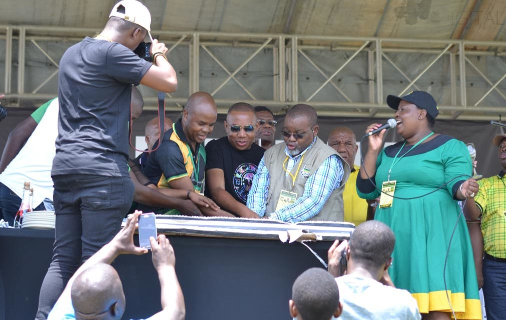 """We are a top 6,"" Mantashe preaches unity at 106th birthday party"