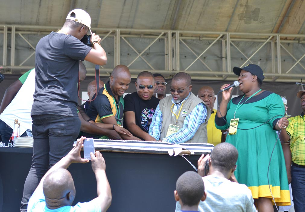 """""""We are a top 6,"""" Mantashe preaches unity at 106th birthday party"""