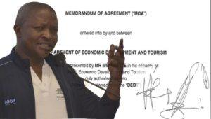 Document shows Mabuza's Govt signed 5-year Agreement with PRET