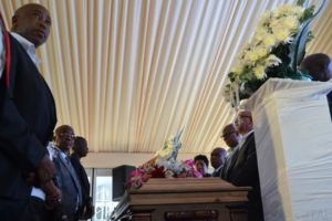 Mabuza speaks land expropriation at Gogo Nantoni's funeral