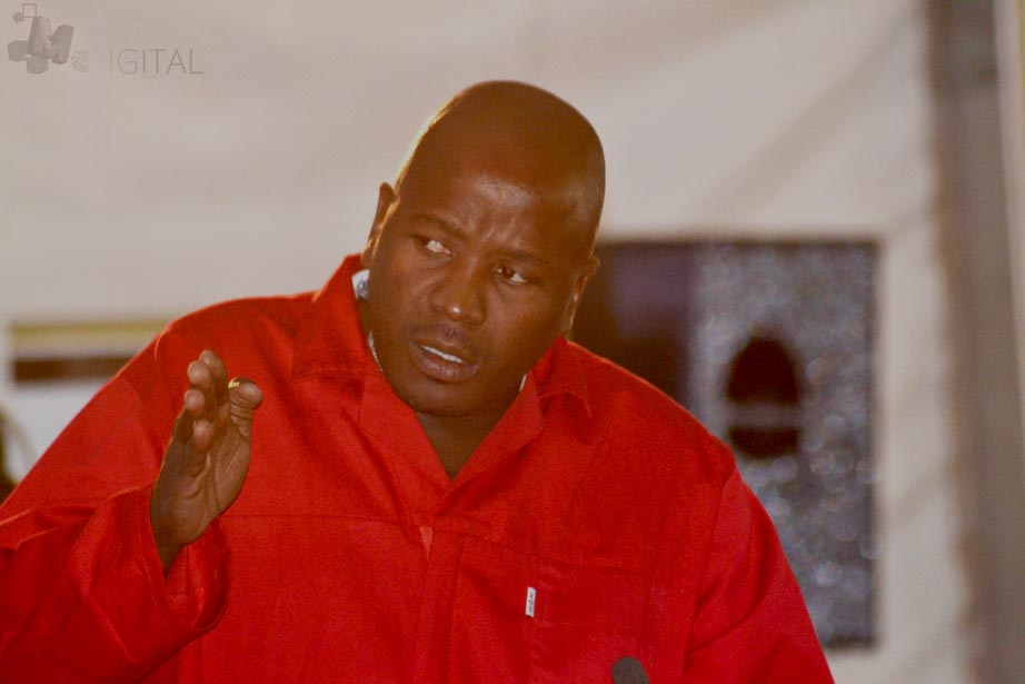 Alfred Skhosana cries out at EFF