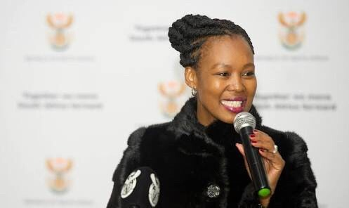 Stella invites young people to come walk into economic opportunities