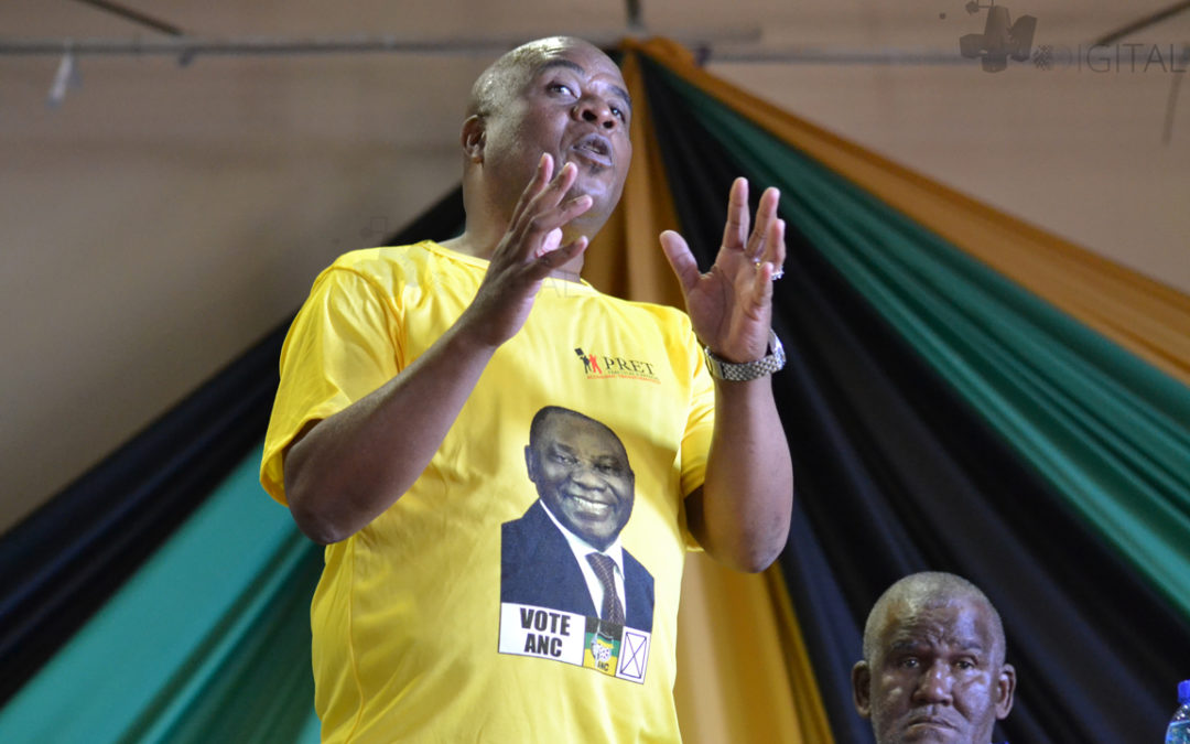 Sgudla tells residents to be 'wise enough' to realise their power