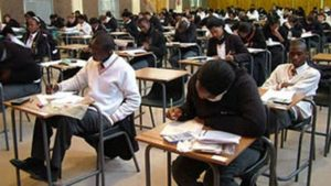 Matriculants sign pledge of good conduct during exams