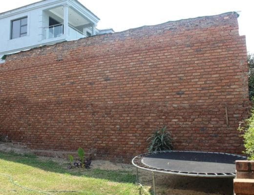 Woman takes neighbour to court over high wall