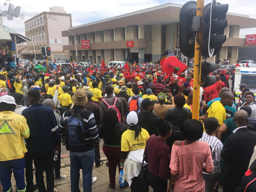 PRET wrestles EFF over march to eMalahleni municipality