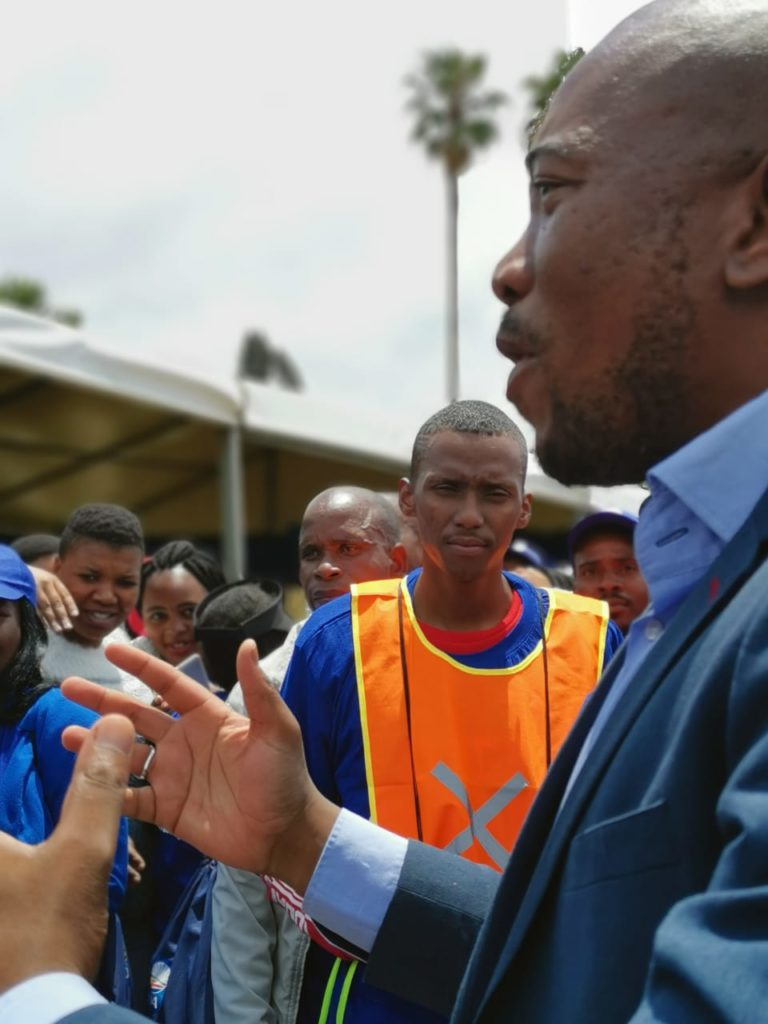 DA's plan for MP is fight corruption, open fair access to long-term jobs