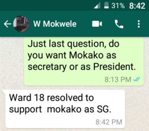 Ndumiso Mokako aligned branches cry foul over REC's snubbing of BGMs