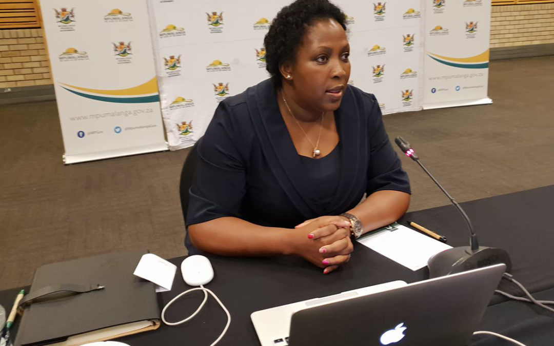 Mtshweni wants Steve Tshwete to show other municipalities how clean governance is done