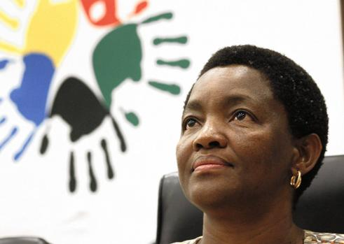 She's coming to Mkhondo. Bathabile Dlamini to launch 'Sanitary Dignity Programme'