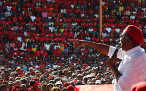 Malema takes aim at Mabuza during eMalahleni rally
