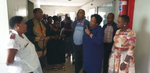 """Mtshweni says conditions at eMalahleni hospital """"hurts and pains"""" her"""