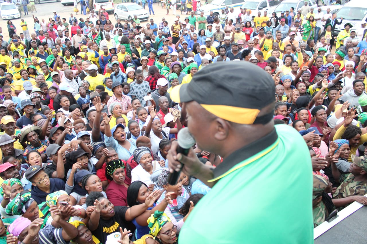 DD Mabuza expects large number will vote ANC in Mpumalanga