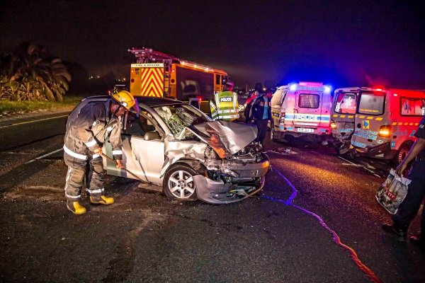 Heavily pregnant Delmas cop dies after her car is hit from back