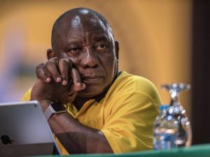 Fears that ANC factions may use 8 May results to remove Ramaphosa