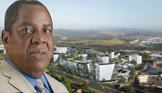 Robert Gumede's company is awarded multi-billion tender to re-develop Mbombela city