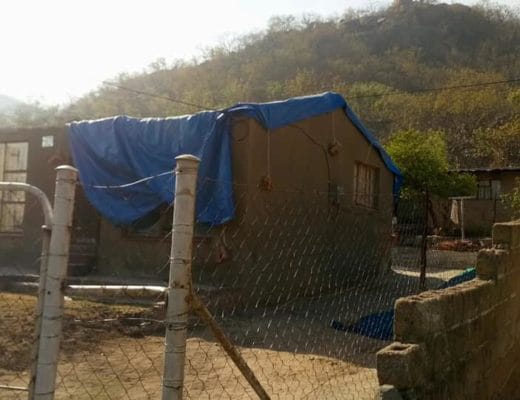 """Government says certain men fixing damaged homes in KaNyamazane are """"illegal contractors"""""""