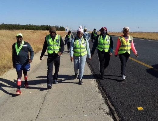 MP walkers take 320km distance in campaign to have 6 pupils enrolled next year