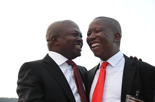 Julius Malema could become SA's deputy president if Ramaphosa is booted out