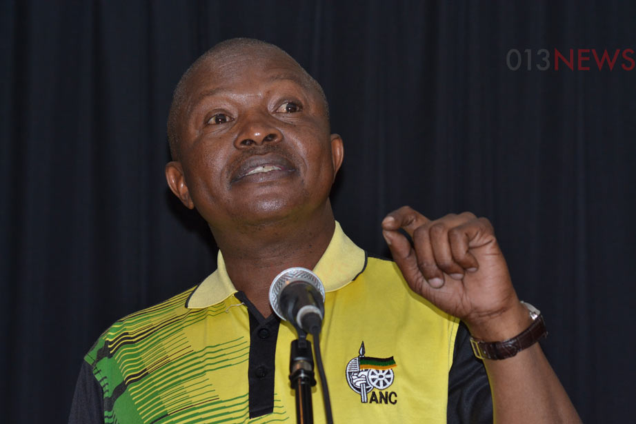 "Mpumalanga ANC won't be allowed ""to disrespect"" DD Mabuza"
