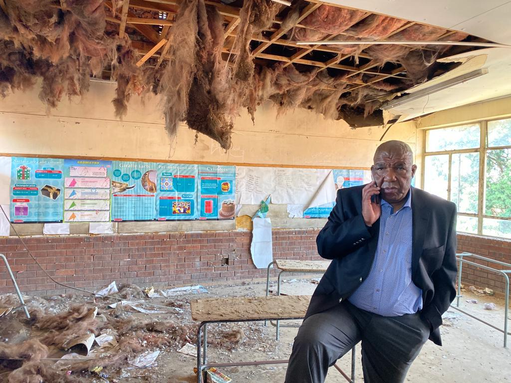 Vusi Shongwe decries state of Lindile Secondary School