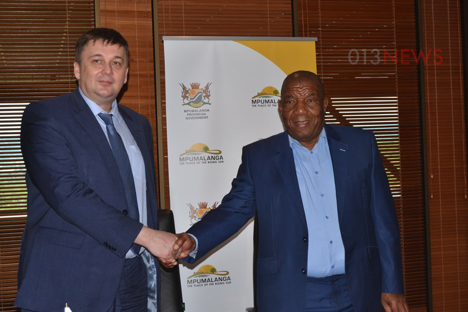 Premier Refilwe Mtshweni-Tsipane this week delegated agriculture MEC Vusi Shongwe to sign a bi-lateral agreement with the Russian government...