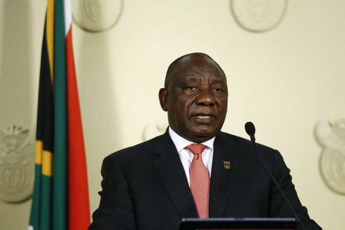 Cyril Ramaphosa's message to criminals who use lockdown to terrorise communities, especially women