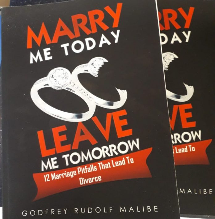 An excerpt from Godfrey Malibe's 12 Marriage Pitfalls That Lead to Divorce